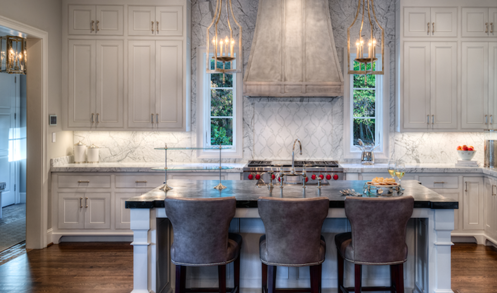 Statuiretto Marble- Perimeter and Full Height Backsplash